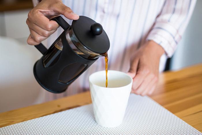 French Press Kaffee Geschmack