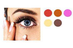 Make Up Blaue Augen