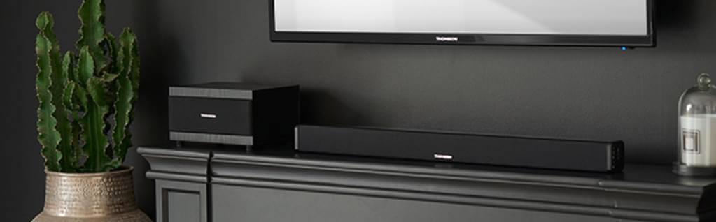Kompakte Lausprecher: Soundbars