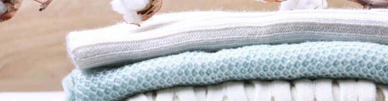 Handtücher aus Bio-Baumwolle und Baumwollpflanzen