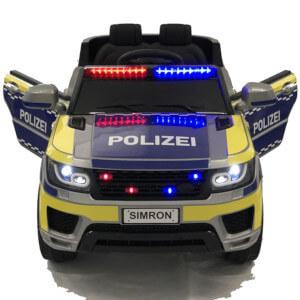 Polizeiauto Kinderfahrzeug