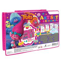 Trolls Farben- und Stiftekoffer