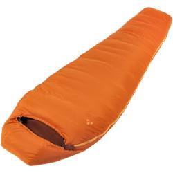 Oranger Mumienschlafsack aus Polyester