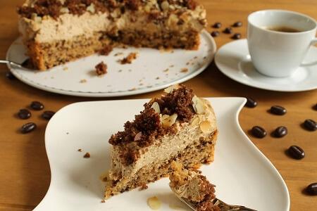 Eiskaffee Torte