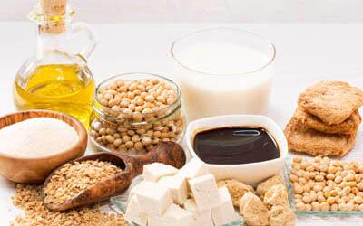 Verschiedene Fleischersatz-Produkte