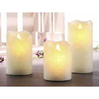 LED-Kerzen Stumpenkerzen