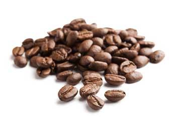 Kaffeebohnen essen