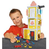 Modellhäuser und Spielfiguren