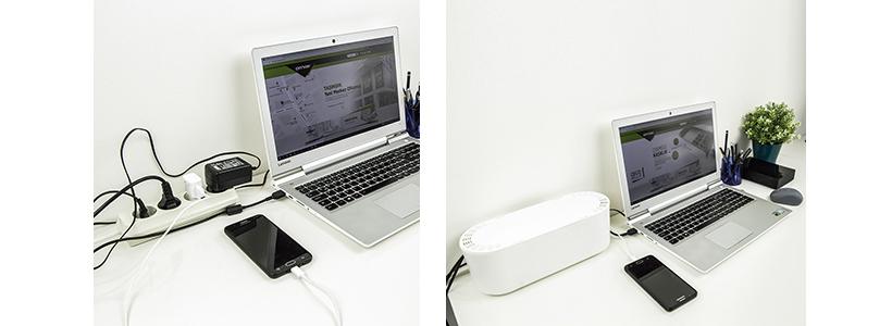Kabelboxen Schreibtisch