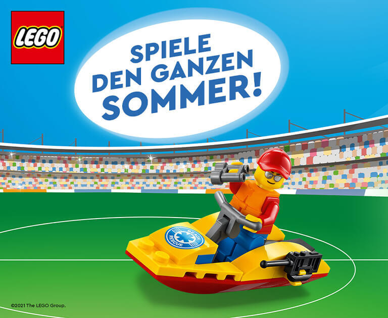 Lego-Summertime Rabattaktion