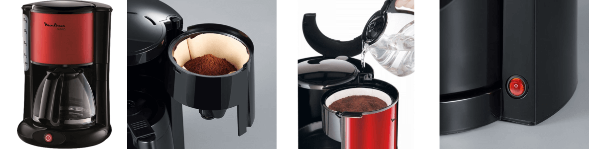 Handhabe Filterkaffeemaschine