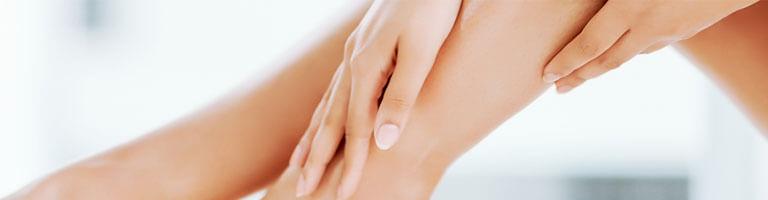 Glatte Haut