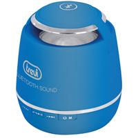 Blauer Bluetooth-Lautsprecher