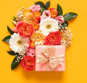 Geschenk für die Freundin