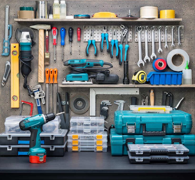 Werkzeug-Auswahl