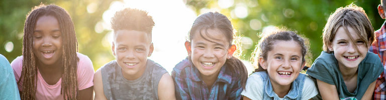 Kinderlächeln