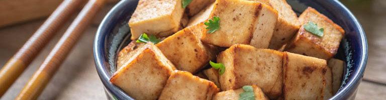 Gebratener Tofu