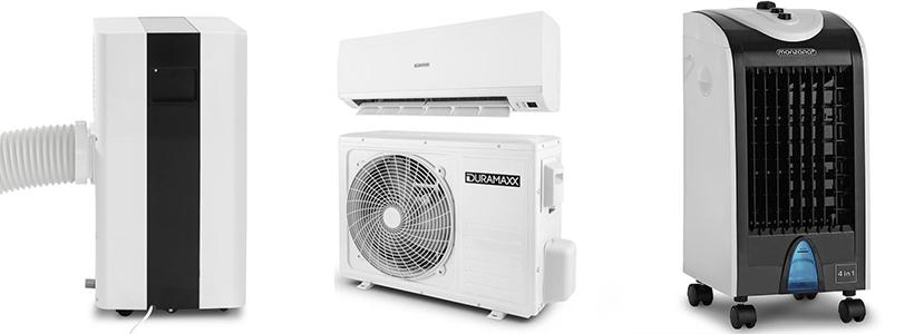 Klimaanlagenarten
