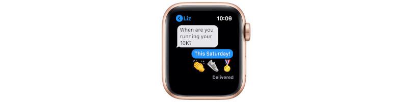 Nachrichten auf Apple Watch