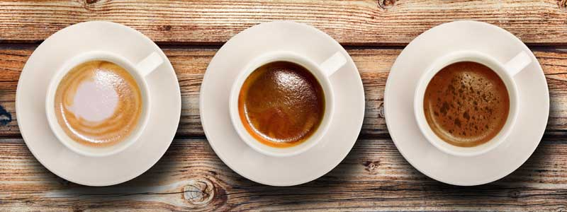 Kaffeevarianten