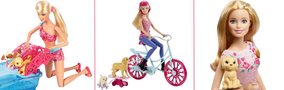 Barbie und ihre Hunde