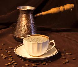 Ibrik oder Cezve für türkischen Mokka