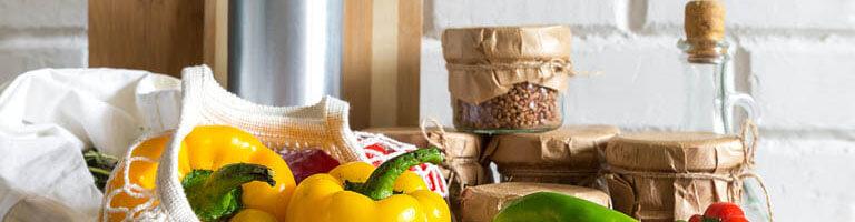 Beutel und Netze für den plastikfreien Einkauf