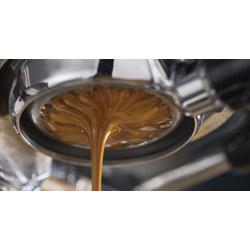 Zubereitung eines Espresso Lungo