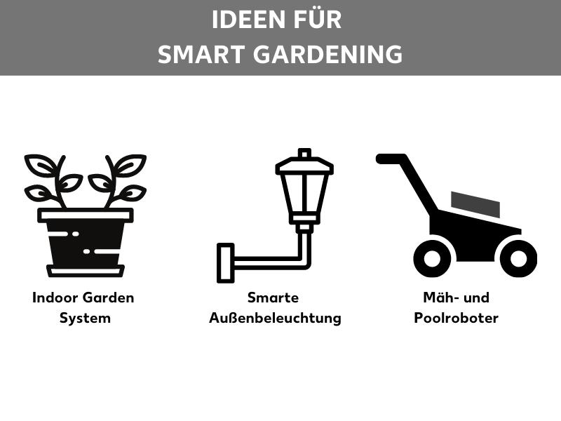 Ideen smarter Garten