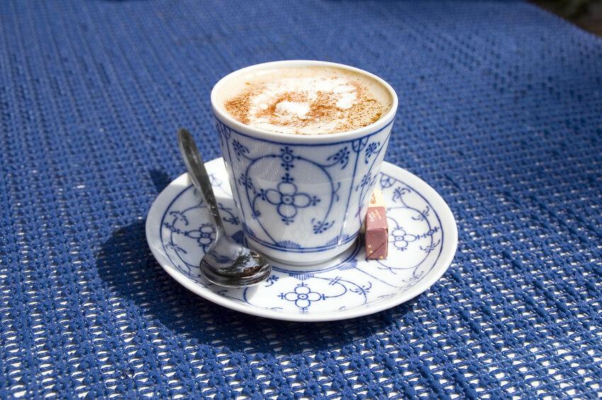 Pharisäer Kaffee in Tasse