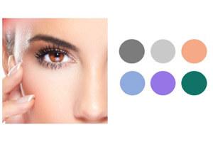 Make Up Braune Augen