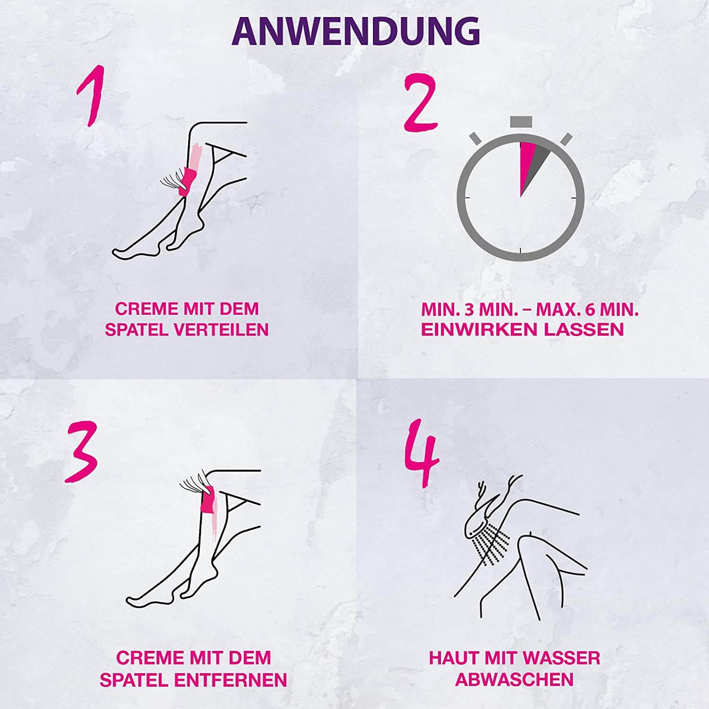 Anleitung Enthaarungscreme