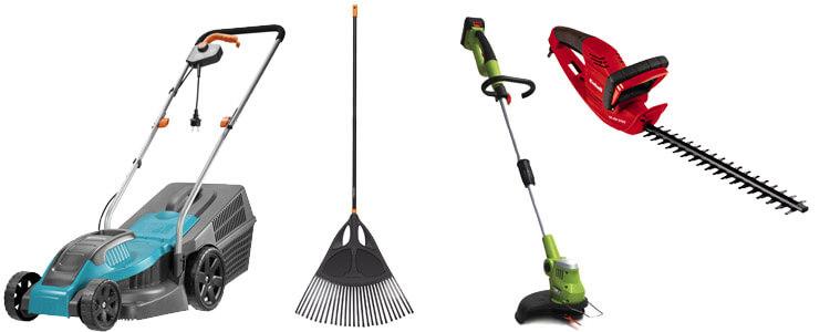 Gartenartikel für Gartenarbeit