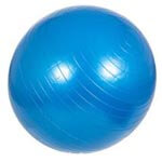 Blauer Gymnastikball