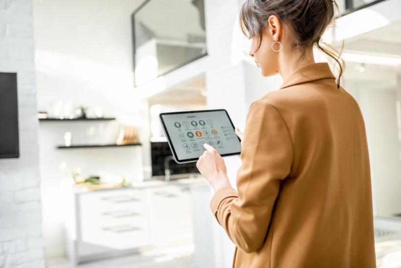 Steuerung des Smart Homes über Smartphone