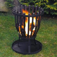 Feuerkorb aus Metall