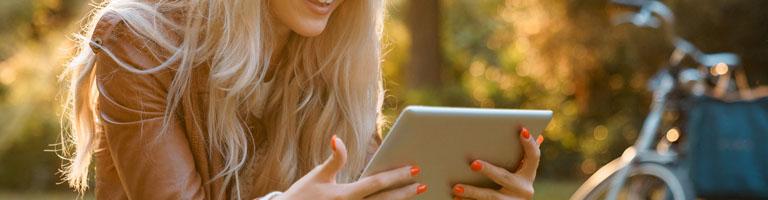 Tablet oder Laptop