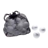 Golfbälle in Ballnetz