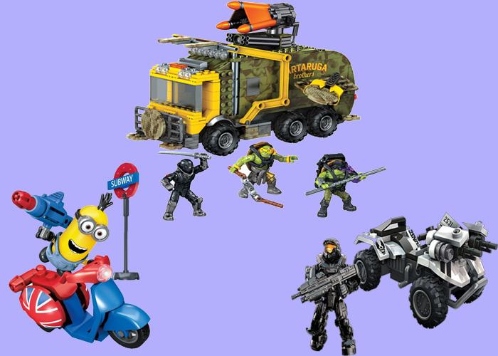 Figuren und Fahrzeuge von Mega Construx