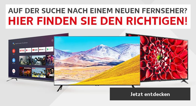 Fernseher Banner