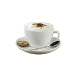Cappuccino mit Keks