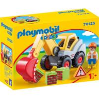Playmobil 1.2.3 Schaufelbagger