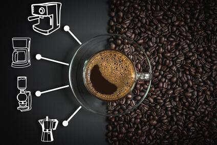 Wie viel Kaffeepulver für welche Zubereitung