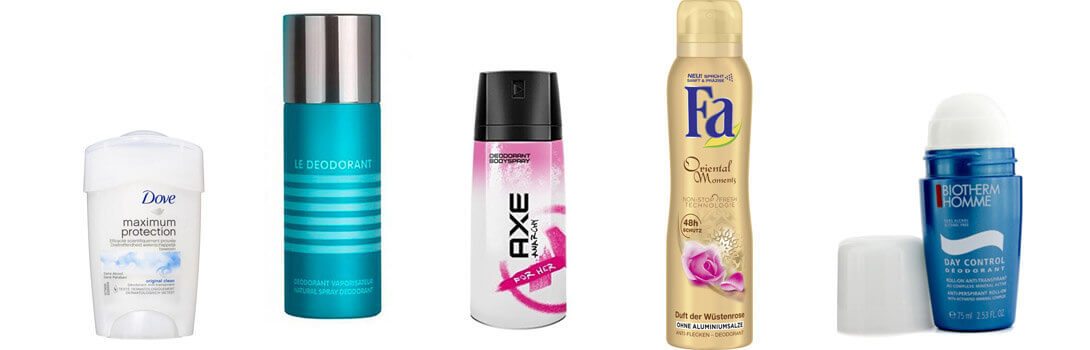 Deodorants und Antitranspirante