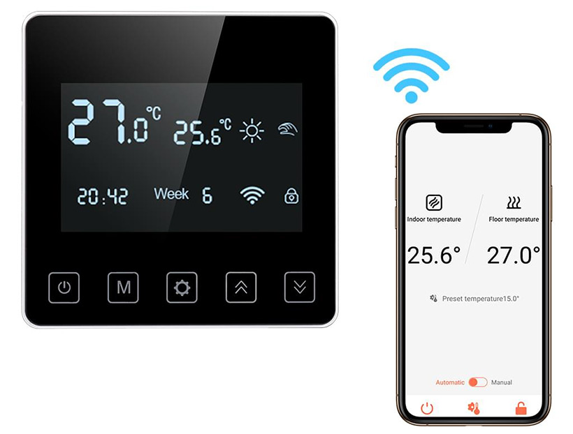 Smartes Thermostat