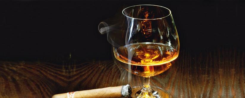 Cognac und Zigarre
