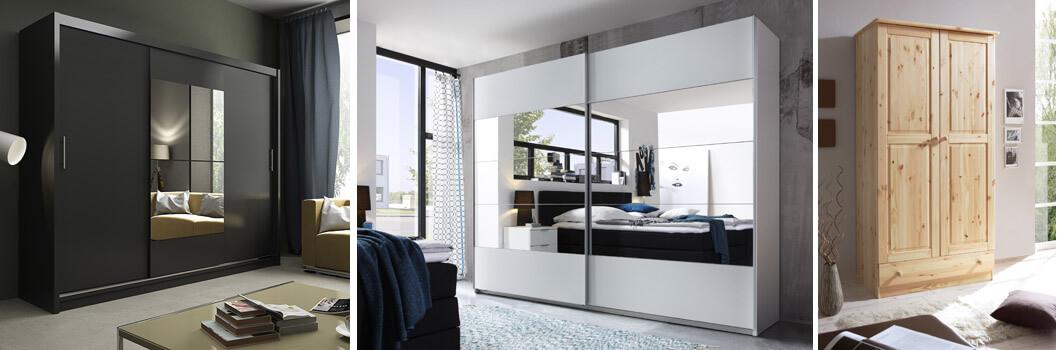 Schlafzimmer-Kleiderschränke