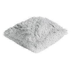 Weißes Kuschelkissen