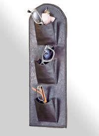 Wandorganizer in Leder-Optik