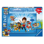 Paw Patrol Puzzle Set mit je 12 Teilen